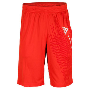 adidas MENS CLIMACOOL BERMUDA SHORT HI-RES RED