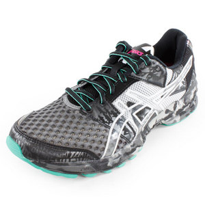 ASICS WOMENS GEL NOOSA TRI 8 SHOES STORM/MINT