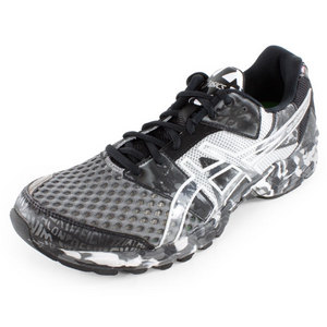 ASICS MENS GEL NOOSA TRI 8 SHOES STORM/LIGHTNI