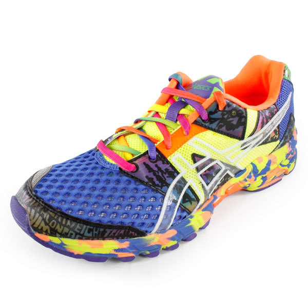 Men's Gel Noosa Tri 8 Runnning Shoes Blue And Yellow