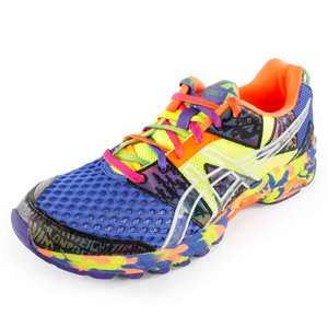 ASICS MENS GEL NOOSA TRI 8 SHOES BLUE/FRESH YE
