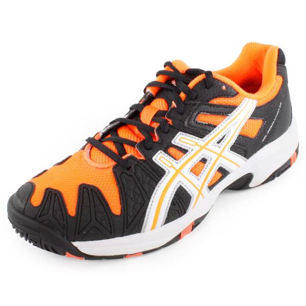 Asicstrainers 5 Resolution Gel Shoes Asics ru Mens Orangeblack vYSS1q