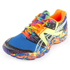 ASICS JUNIORS GEL NOOSA TRI 8 SHOES BLUE/YEL