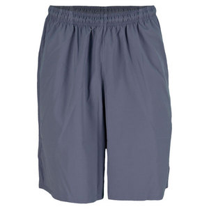 WILSON MENS BASIC WOVEN TENNIS SHORT FLINT GREY
