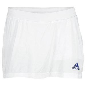 adidas WOMENS ADIZERO TENNIS SKORT WHITE