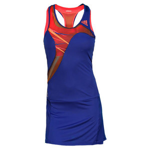 adidas WOMENS ADIZERO TENNIS DRESS HERO INK