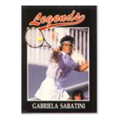 Gabriela Sabatini Silver Foil Legends