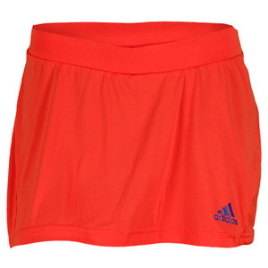 adidas WOMENS ADIZERO TENNIS SKORT HI-RES RED