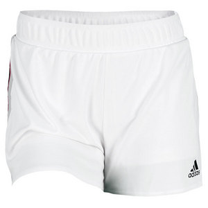 adidas WOMENS TS 12.6 INCH SHORT WHITE