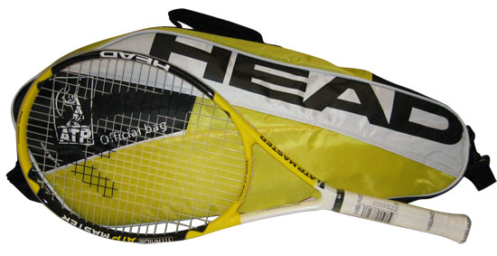 Atp Masters Racquet With Bag