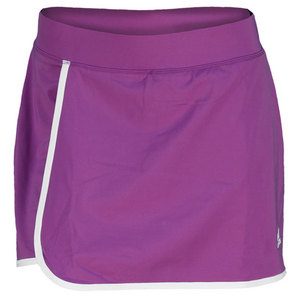 adidas WOMENS TS GALAXY SKORT 3 RAY PURPLE