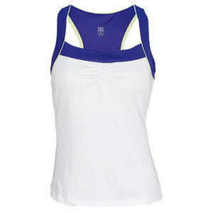 TAIL WOMENS BAILEY PICTURE PERFECT TANK WHITE