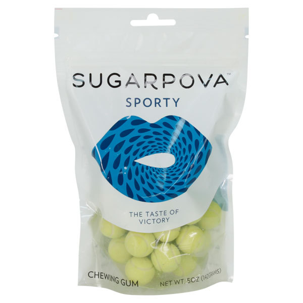 Sporty Tennis Ball Gum