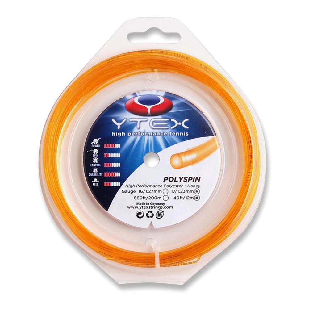 Polyspin Honey 1.23mm/17g Tennis String