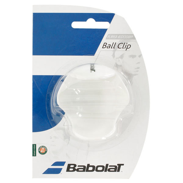 Tennis Ball Clip White