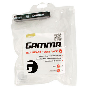 GAMMA RZR REACT 15 PIECE TOUR PACK OVERGRIP