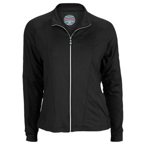 BOLLE WOMENS ESSENTIALS TENNIS JACKET BLACK