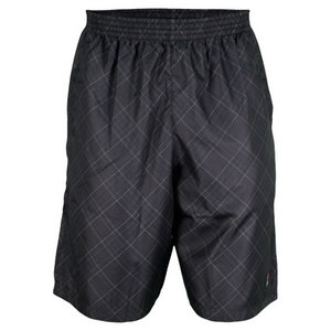 FILA MENS DOUBLES REVERSIBLE SHORT BLACK