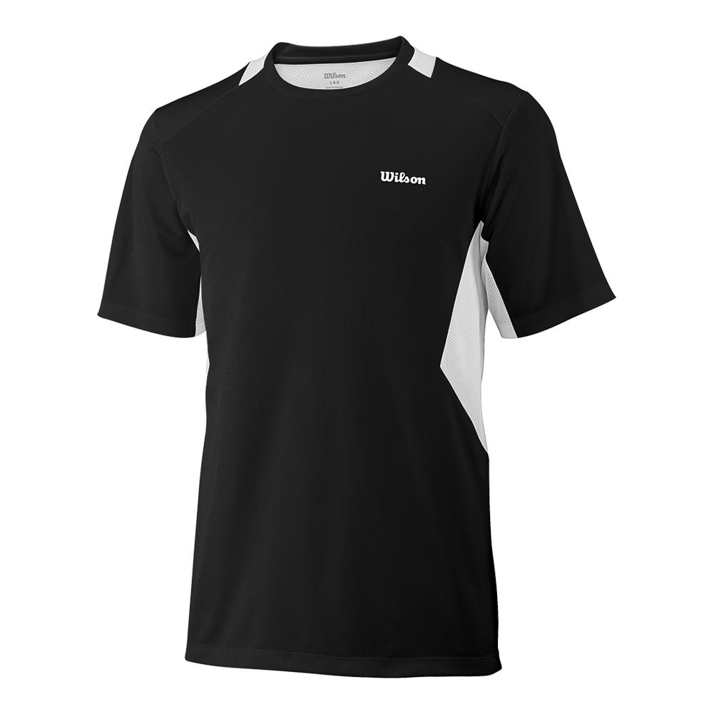 Boy's Great Get Tennis Crew Black/White