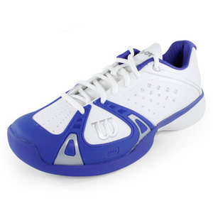 WILSON MENS RUSH PRO WH/COBALT/WH TENNIS SHOES