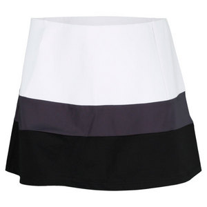 VICKIE BROWN WOMENS MICHELLE TENNIS SKORT WHITE/BLK