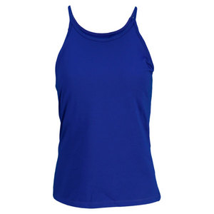 VICKIE BROWN WOMENS AUDREY TENNIS TANK ROYAL