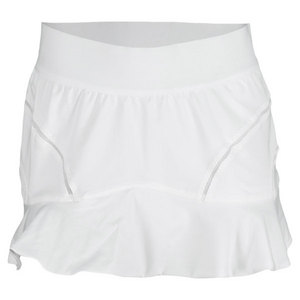 adidas WOMENS STELLA BARR 12 IN SKORT WHITE