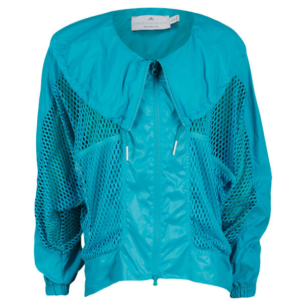 Women`s Stella McCartney Barricade Warm Up Tennis Jacket Ultra Green