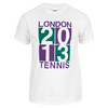 TENNIS EXPRESS London 2013 Unisex Tennis Tee White