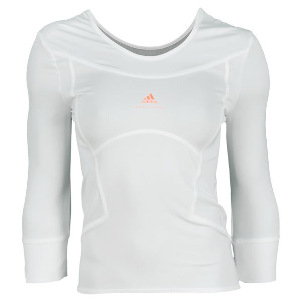 Women's Stella Mccartney Barricade Long Sleeve Tennis Tee White