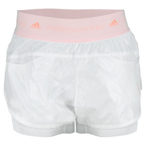 adidas WOMENS STELLA BARRICADE SHORT WHITE