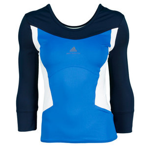 adidas WOMENS STELLA BARRICADE LS TEE HERO INK