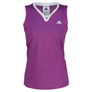 adidas WOMENS TS GALAXY TANK RAY PURPLE