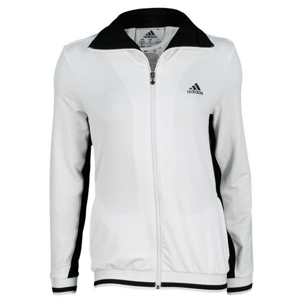 Women's Tennis Sequencials Warm Up Jacket White