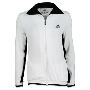 adidas WOMENS TS WARM UP JACKET WHITE