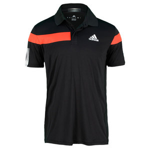 adidas MENS ADIPOWER BARRICADE POLO BLACK