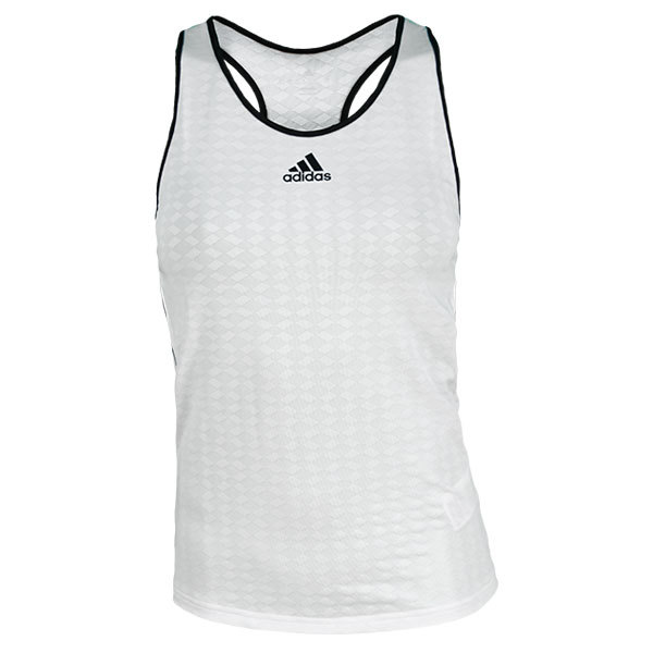 Women's Tennis Sequencials Engineered Tank White