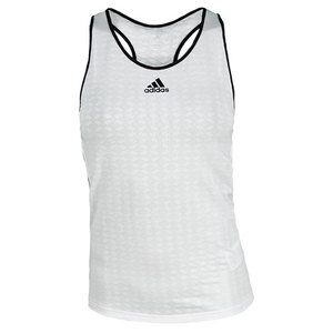 adidas WOMENS TS ENGINEERED TANK WHITE