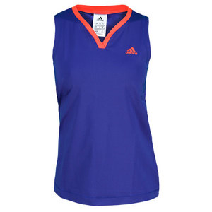 adidas WOMENS TS GALAXY TANK HERO INK/HI-RES RD