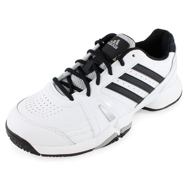 adidas s bercuda 3 wide tennis shoes white and black