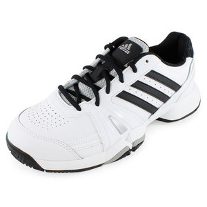 adidas MENS BERCUDA 3 WIDE SHOES WHITE/BLACK