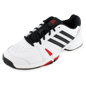 adidas MENS BERCUDA 3 SHOES WHITE/BLACK