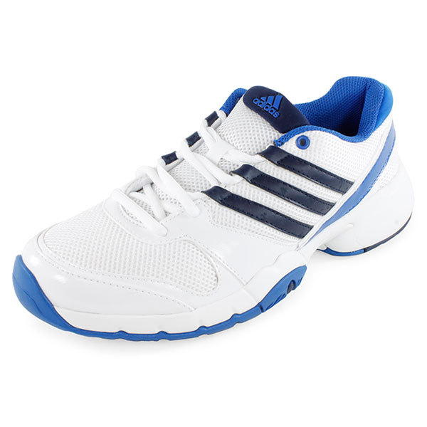 s bercuda 3 tennis shoes white and navy