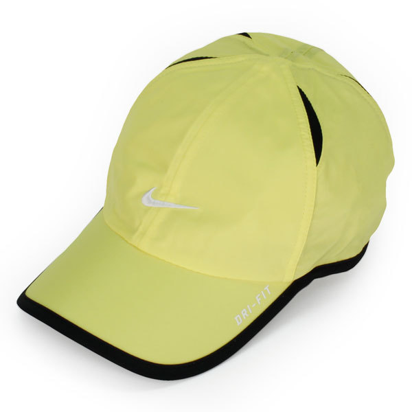 Men's Featherlight Tennis Cap Yellow