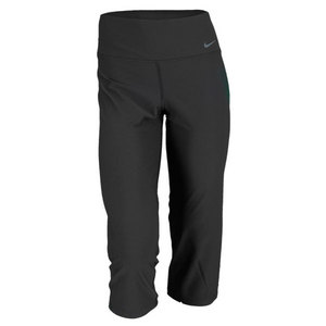 NIKE WOMENS LEGEND 2.0 SLIM POLY CAPRI BLACK