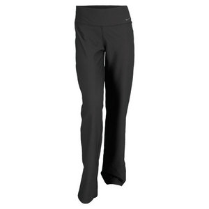 NIKE WOMENS LEGEND 2.0 SLIM POLY PANT BLACK