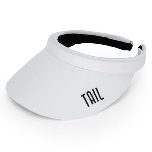 TAIL WOMENS FITNESS TENNIS VISOR WHITE