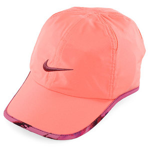 NIKE WOMENS GRAPHIC FEATHERLIGHT CAP PINK