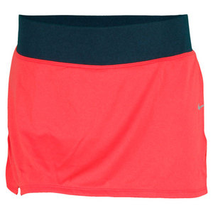 NIKE WOMENS KNIT RUNNING SKIRT FUSION RED
