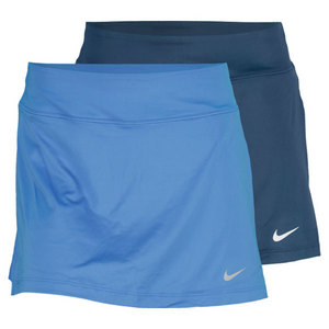 NIKE WOMENS STRAIGHT KNIT 14.17 IN SKIRT